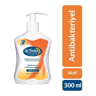 Activex Active Antibakteriyel Sıvı Sabun 300 ml