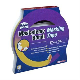 Pattex Metylan Maskeleme Bandı 12 mm X 50 mt