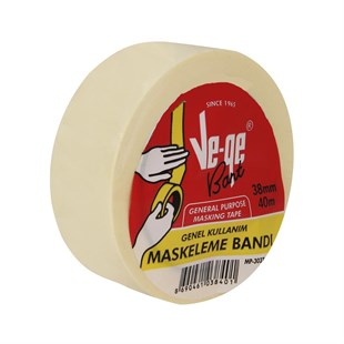 Ve-Ge Maskeleme Bandı 38 mm x 40 mt